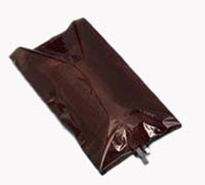 "IV Cover, Amber, Bags/Bottles, 8""x14"" with Slit, 2mil fits 1,000mL, 100/Package"